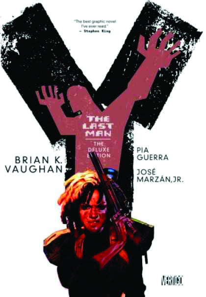 Y THE LAST MAN DELUXE EDITION HC VOL 02