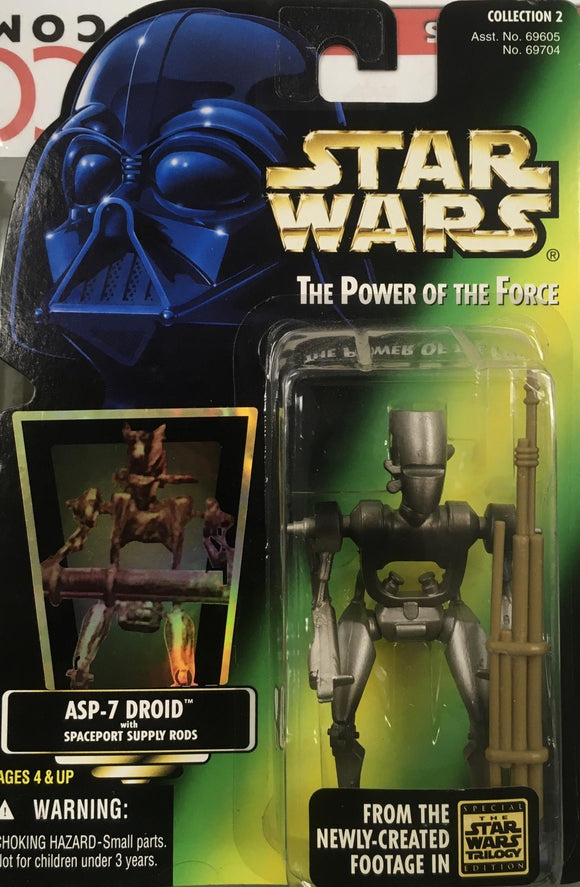 STAR WARS FIGURE / ASP 7 DROID