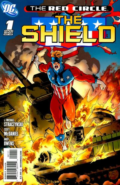 RED CIRCLE THE SHIELD #01