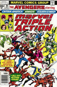 MARVEL TRIPLE ACTION #36 (30 CENT)