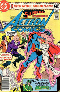 ACTION COMICS #512 (NEWSSTAND)
