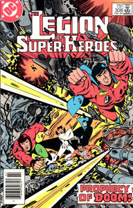LEGION OF SUPER HEROES #308 (NEWSSTAND)