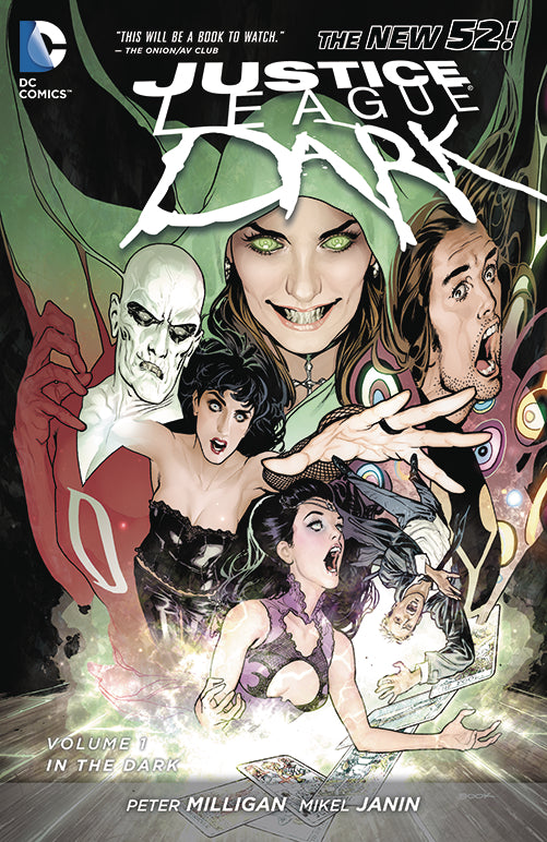 JUSTICE LEAGUE DARK TP VOL 01 IN THE DARK
