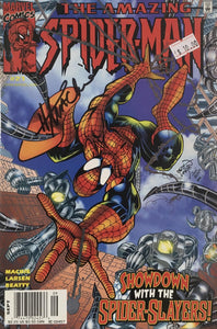 AMAZING SPIDER MAN 1999 #21 (SIGNED BY HOWARD MACKIE)