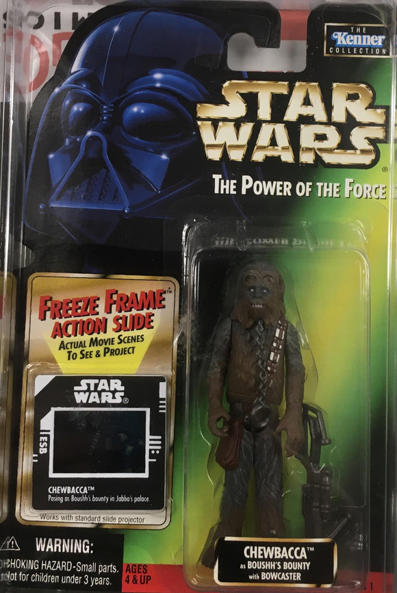 STAR WARS FIGURE / CHEWBACCA (BOUSHH'S BOUNTY)