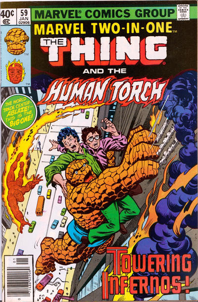 MARVEL TWO IN ONE #59 (NEWSSTAND)