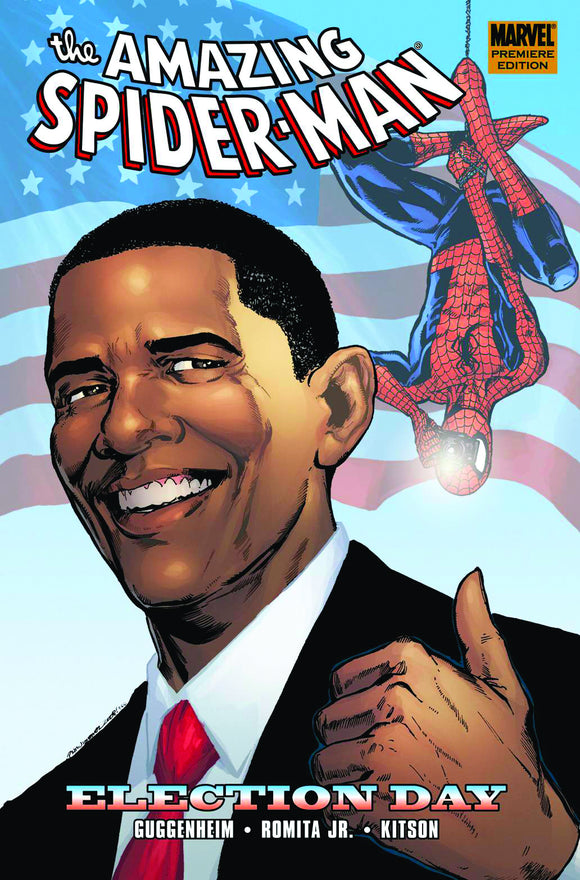 SPIDER-MAN ELECTION DAY PREM HC