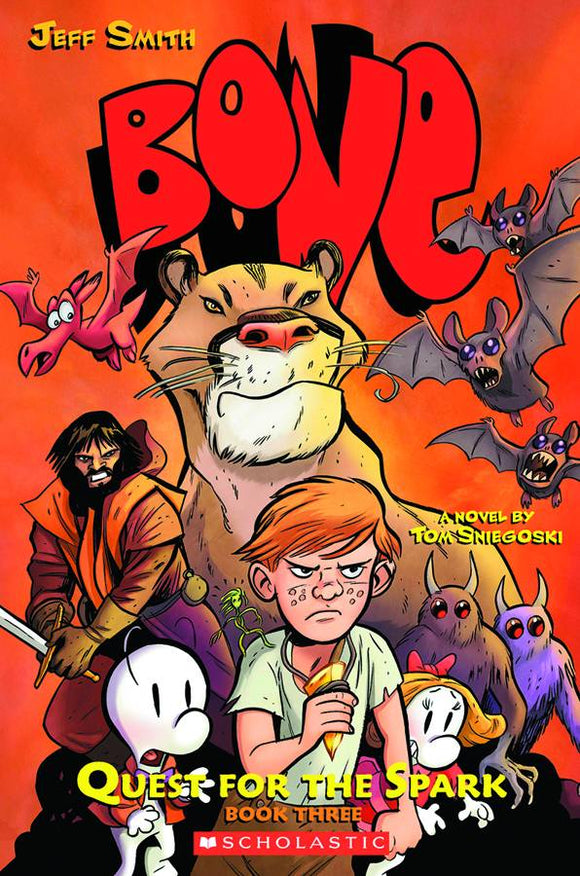BONE QUEST FOR SPARK SC NOVEL BOOK 03