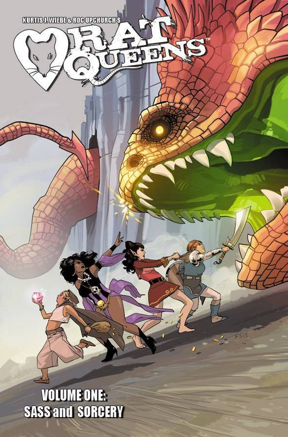 RAT QUEENS TP VOL 01 SASS & SORCERY (MR)