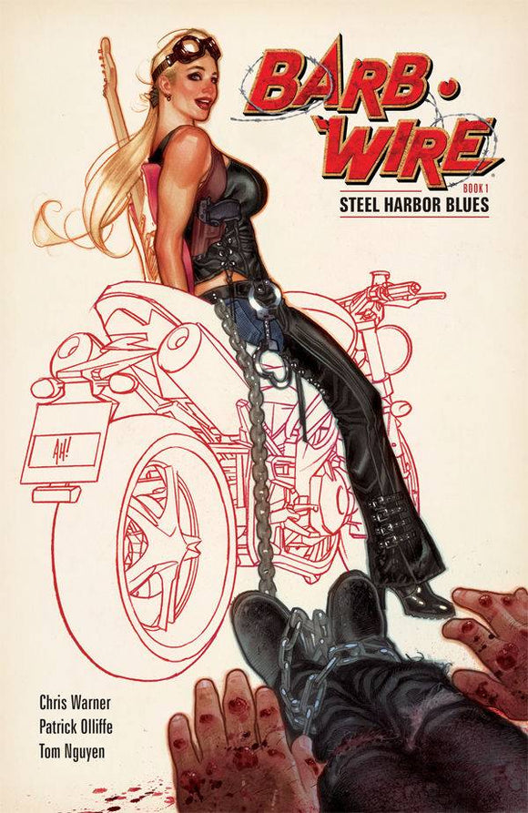 BARB WIRE TP VOL 01 STEEL HARBOR BLUES (C: 0-1-2)