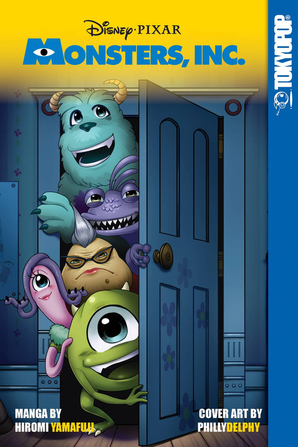 DISNEY MANGA PIXAR MONSTERS INC GN