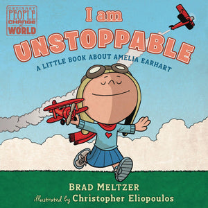 I AM UNSTOPPABLE AMELIA EARHART BOARD BOOK (C: 0-1-0)