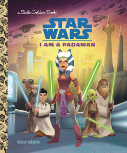 STAR WARS LITTLE GOLDEN BOOK I AM PADAWAN