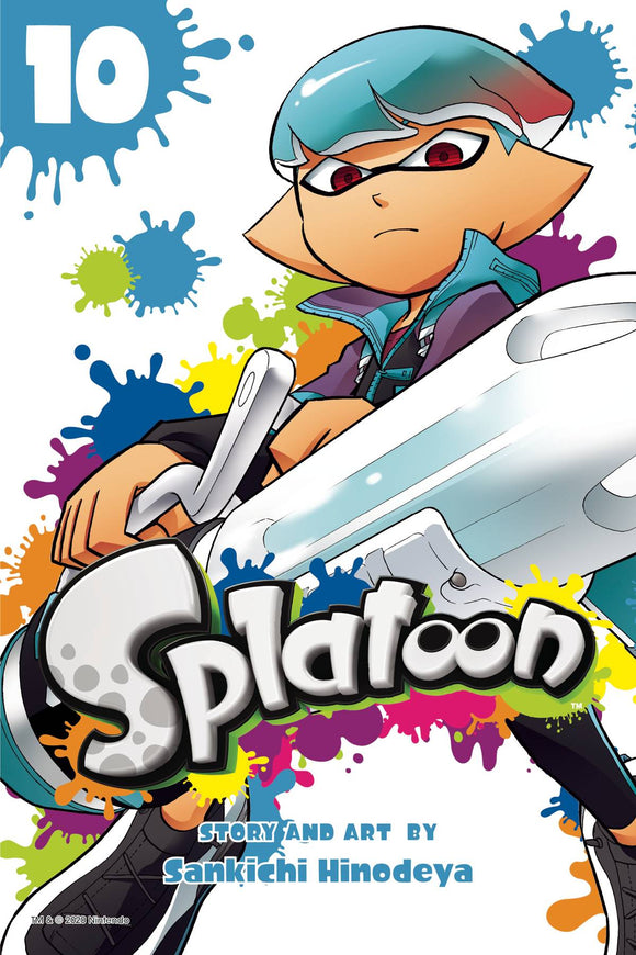 SPLATOON MANGA GN VOL 10