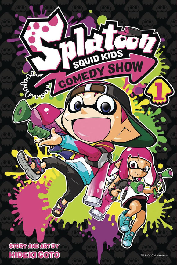 SPLATOON SQUID KIDS COMEDY SHOW GN VOL 01