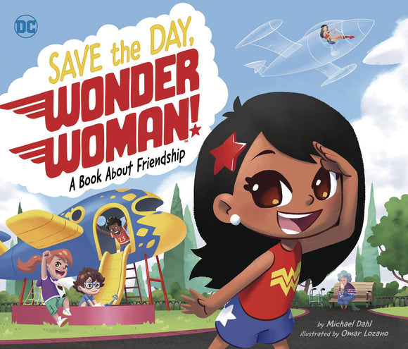 SAVE THE DAY WONDER WOMAN HC