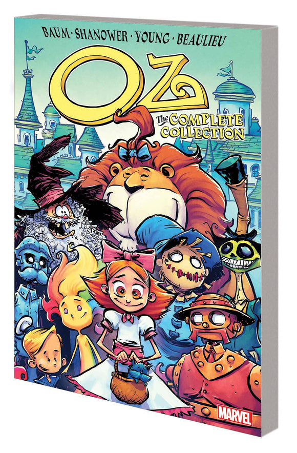OZ COMPLETE COLLECTION GN TP ROAD TO EMERALD CITY