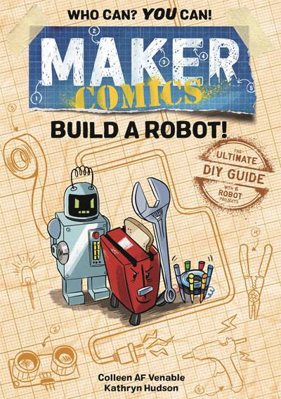MAKER COMICS GN BUILD A ROBOT