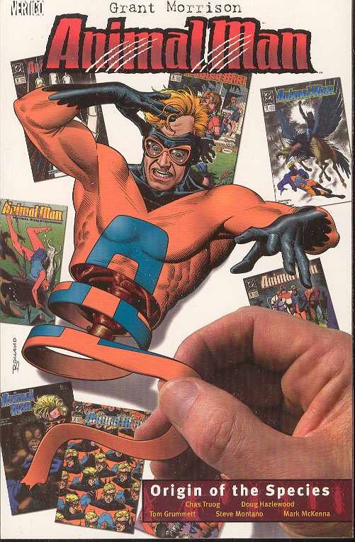 ANIMAL MAN TP VOL 02 ORIGIN OF THE SPECIES (USED)