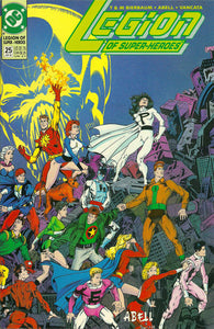 LEGION OF SUPER HEROES 1989 #25