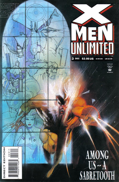 X MEN UNLIMITED #3