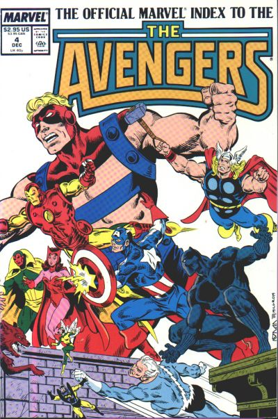 OFFICIAL MARVEL INDEX TO THE AVENGERS #04