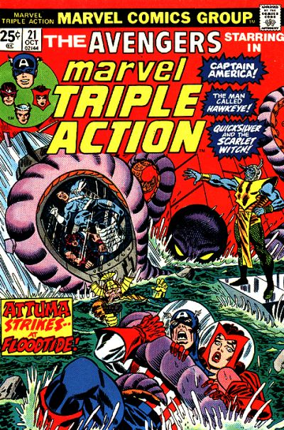 MARVEL TRIPLE ACTION #21