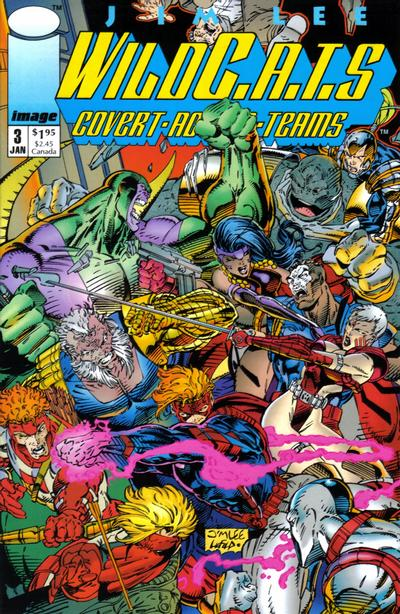 WILDC.A.T.S. COVERT ACTION TEAMS #03