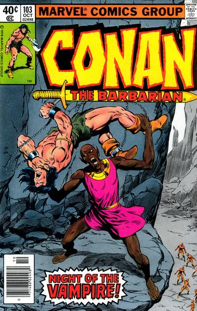 CONAN THE BARBARIAN #103 (NEWSSTAND)