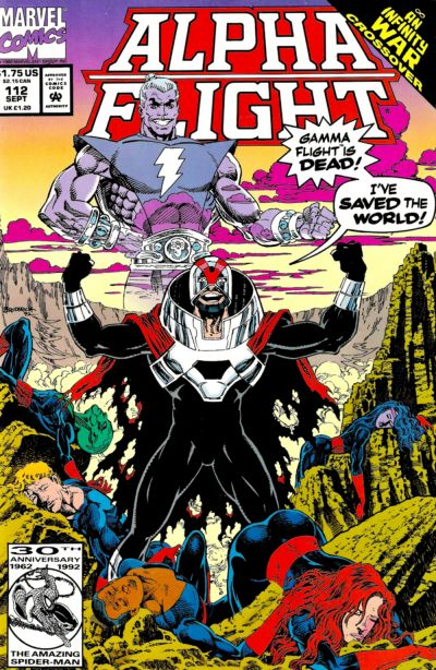 ALPHA FLIGHT #112