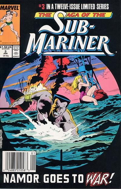 SAGA OF THE SUB MARINER #3