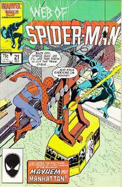 WEB OF SPIDER MAN #21 (DIRECT)