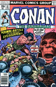 CONAN THE BARBARIAN #81