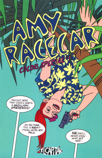 AMY RACECAR COLOR SPECIAL #1