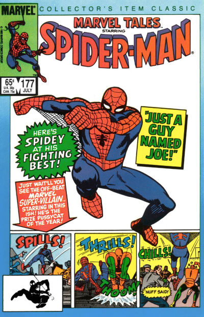 MARVEL TALES #177 (DIRECT) (1966)