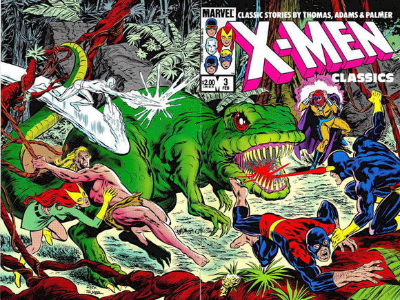 X MEN CLASSICS STARRING THE X MEN #3