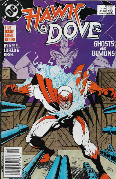 HAWK AND DOVE 1988 #01