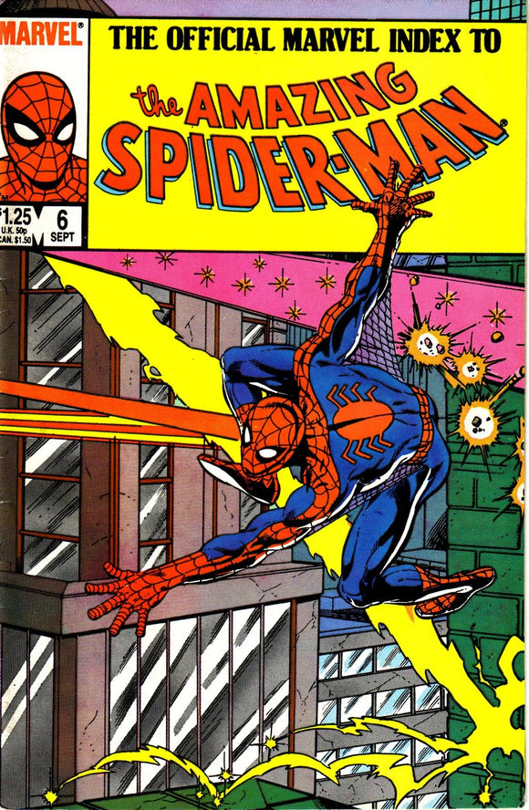 THE OFFICIAL MARVEL INDEX TO THE AMAZING SPIDER MAN #06