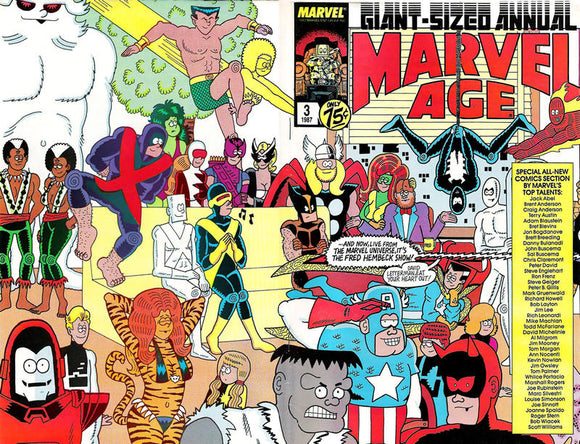 MARVEL AGE ANNUAL #03