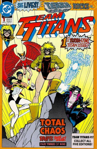 TEAM TITANS #01