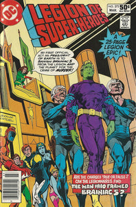 LEGION OF SUPER HEROES #273 (NEWSSTAND)