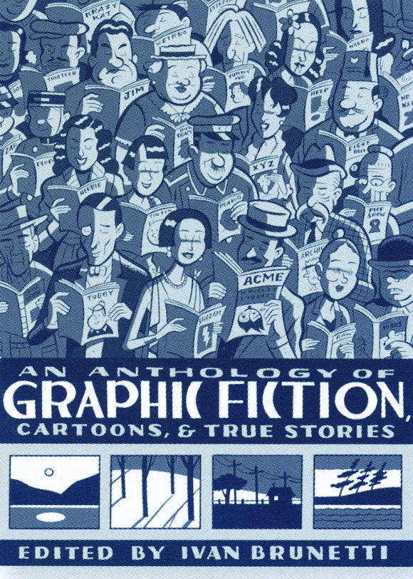 ANTHOLOGY OF GRAPHIC FICTION HC VOL 01
