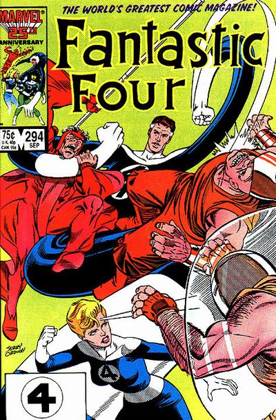 FANTASTIC FOUR #294 (DIRECT)