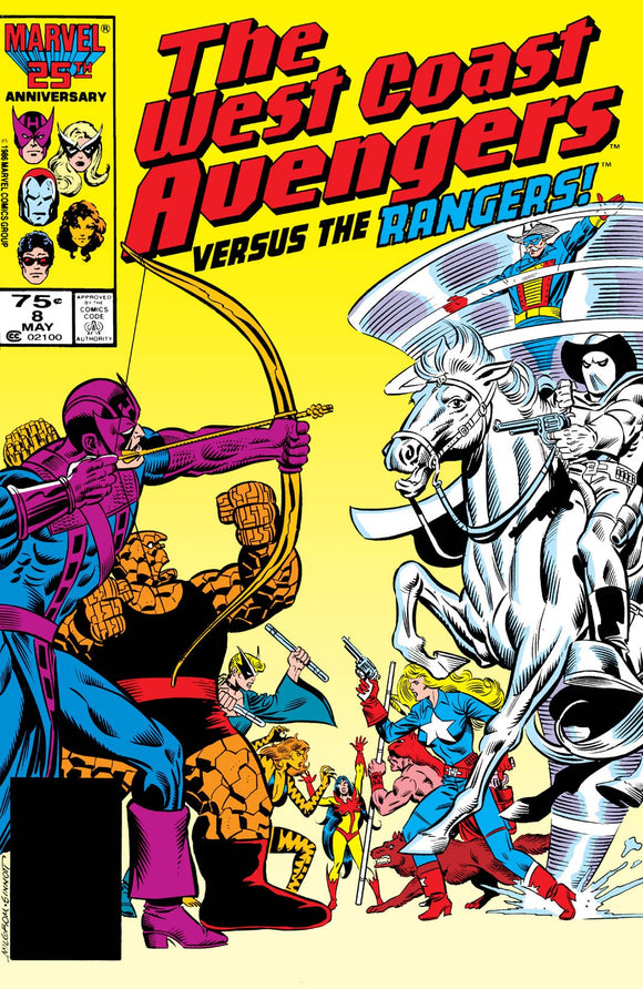 WEST COAST AVENGERS #8 (DIRECT)