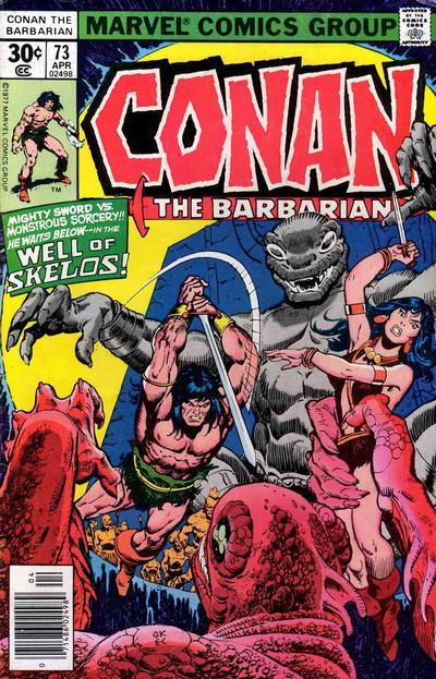 CONAN THE BARBARIAN #73