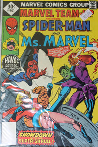 MARVEL TEAM UP #62 (WHITMAN)