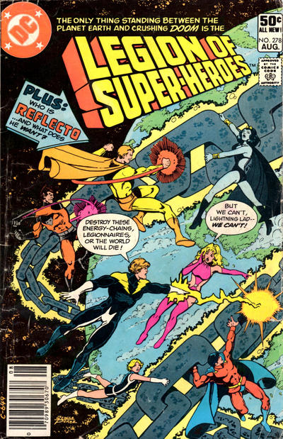 LEGION OF SUPER HEROES #278 (NEWSSTAND)