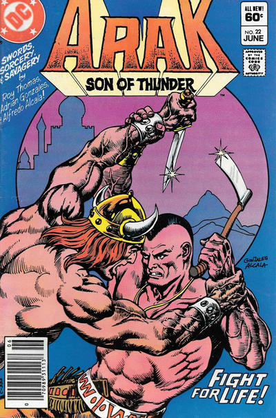 ARAK SON OF THUNDER #22