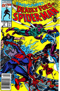 DEADLY FOES OF SPIDER MAN #4 (NEWSSTAND)