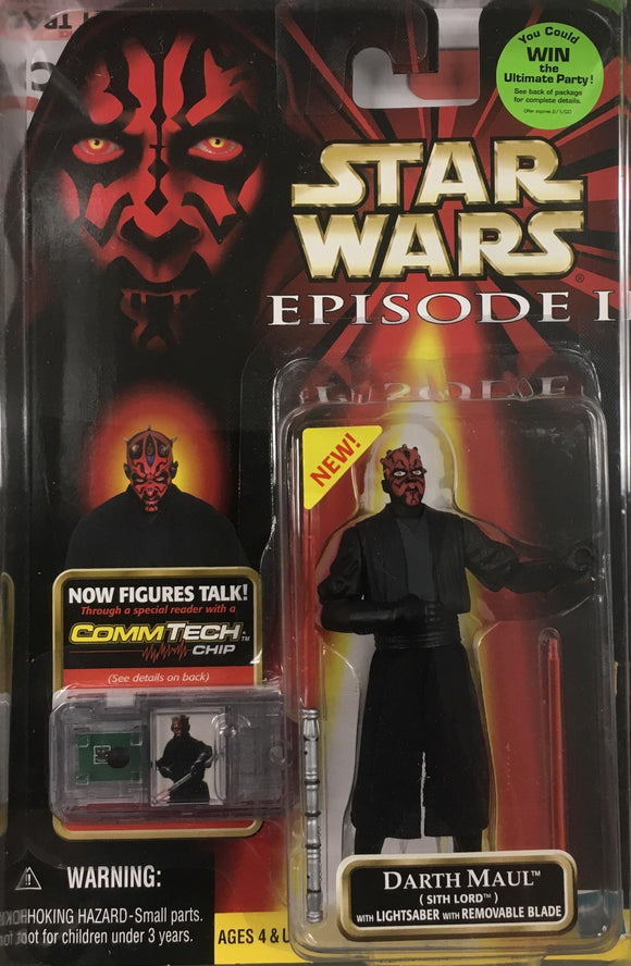 STAR WARS FIGURE / DARTH MAUL (SITH LORD)